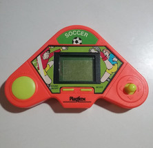 Playtime Soccer Electronic Handheld LCD Game Retro Vintage 1990 Untested - $12.37
