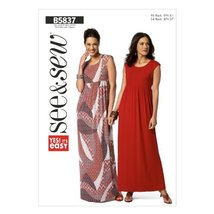 Butterick Patterns B5837 Misses'/Misses' Petite Dress Sewing Template, S... - $8.33
