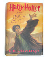 Harry Potter and the Deathly Hallows HB/DJ J.K. Rowling - $17.99