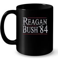 Retro Reagan Bush 84 Election Gift Coffee Mug - $13.99+