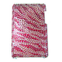 BLING PINK ZEBRA SHELL COVER CASE for iPod Touch 3G 3rd - $11.99