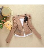 New Style Lady's Chic Khaki Suit Jacket Size XS - $12.00