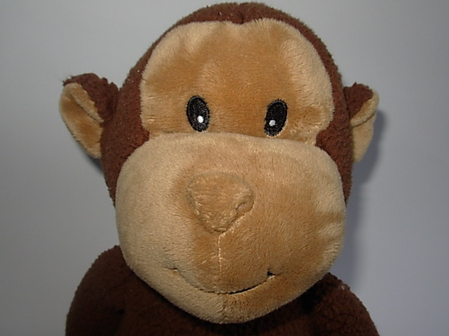 Koala Baby Chenille Brown Tan Monkey Plush 1415352K7 Toys R Us TRU