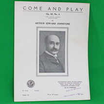 1920 Art Publication Society Teacher's Library Sheet Music, #359, Johnstone - $2.95