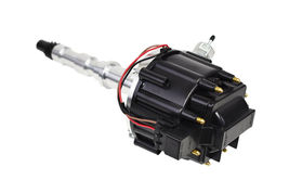 Cadillac HEI Distributor Kit 368 425 472 500 63-84 65,000 Volt V8 Black image 3