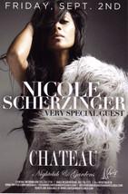 Nicole Scherzinger  @ Chateau Nightclub Las Vegas Promo Card - $1.95