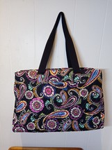 New Vera Bradley Triple Compartment Travel Bag in Bandana Swirl - $85.00