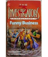 Three Investigators CRIMEBUSTERS #4 FUNNY BUSIN... - $3.95