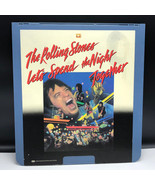 SELECTAVISION VIDEO DISC vintage videodisc movie ced Rolling Stones Spen... - $39.55