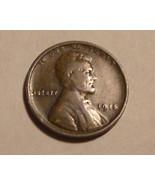 1915 - P Copper Lincoln Wheat Cent (VG) - ₨164.46 INR