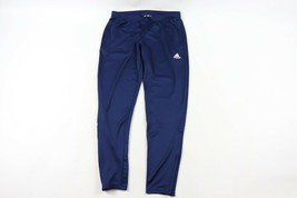 Adidas Mens Large Spell Out Tapered Leg Running Jogging Soccer Sweatpant... - $53.41