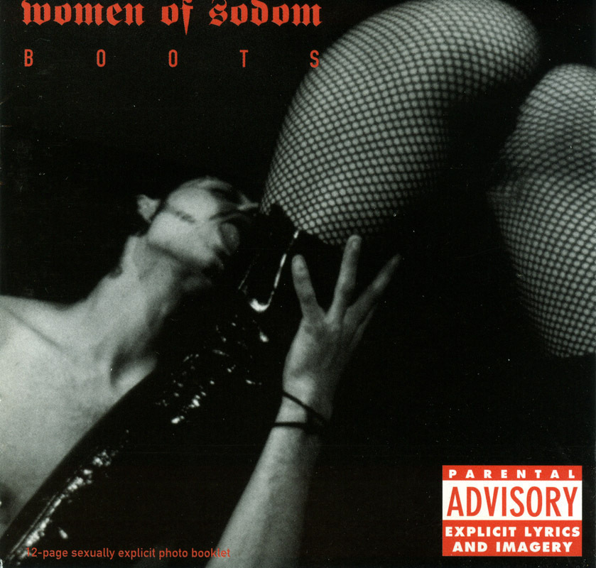 Women of Sodom - Boots CD Femme Fetish Industrial