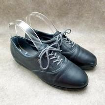 Easy Spirit Womens Motion  Sz 8 M Blue Lace Up Anti-Gravity Oxford Walking Shoes - $27.99
