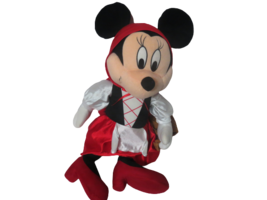 """Disney Minnie Mouse Little Red Riding Hood Plush Doll 26"""" Tall Carrying ... - $39.60"""
