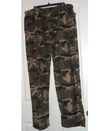 NORTH 15 OUTFITTERS MEN'S FLEECE LOUNGE/SLEEP PANTS SIZE XL-2X-3X CAMOUF... - $16.99