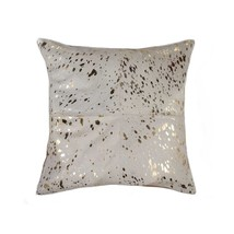 "Torino Quattro Pillow 18"" X 18"" - Natural & Gold - £47.11 GBP"