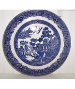"Johnson Bros England Blue Willow 10"" Dinner Plate - $14.00"