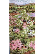 Beautiful Rossi Spring Village Cross Stitch Kit New England - $29.99