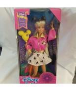 Disney Fun Barbie Doll Pink Jacket #11650 Mattel Park Exclusive 2nd Edit... - $24.70