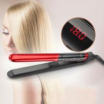Professional Hair Straightener Curler Flat Iron Straightening Curling Iron Style - $35.52