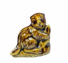 Wade Figurine England whimsies whimsy animal Beaver groundhog woodchuck ... - $11.33