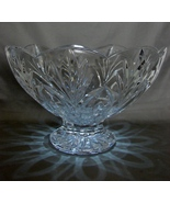 Waterford Crystal Marquis Canterbury Pedestal Bowl - $39.99