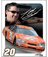 Tony Stewart NASCAR Photo, Car & Number 24 Tin Sign - $8.79