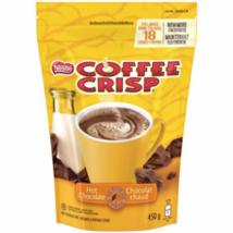 2 Bags Nestle Coffee Crisp Hot Chocolate Mix 18 Servings 450g Each -Canada FRESH - $24.70