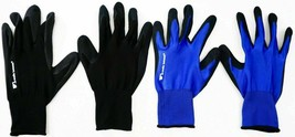 Wells Lamont 5 Pack Mens Foam Latex Work Gloves Medium Blue and Black