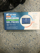 Trek Proof  Hot & Cold  Premium Gel  Pack Injuries Aches Reusable NEW - $14.36