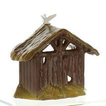 Hagen Renaker Specialty Nativity Manger with Dove Ceramic Figurine image 8