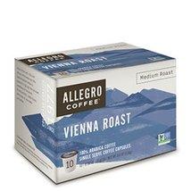 Allegro Coffee Single Serve Coffee Capsules 100% Arabica Coffee (Vienna ... - $39.19