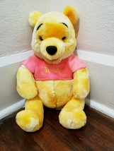 "Disney Store Winnie the Pooh ""ICE CREAM Pooh"" 14 inch Plush Stuffed Animal - $19.34"