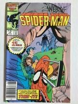 Web Of Spider-Man #16 {Vintage Marvel Comics} Spidey Unmasked - £1.47 GBP