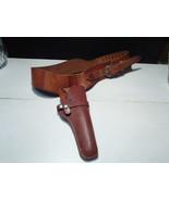 Vintage Hunter Brand R/H Leather Holster & Belt ~ 1100-44 ~ western style - $52.95