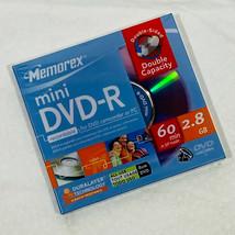 Single Memorex Mini DVD-R 4X 2.8GB 60Min BLANK Recordable Disc - $5.89