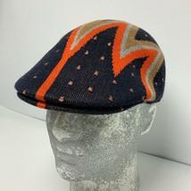 Men's Kangol Navy Orange Tan Shock Wave 507 Cap - $79.00