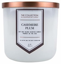 Chesapeake Bay Candle The Collection Two-Wick Scented Candle, Cashmere Plum - €28,71 EUR