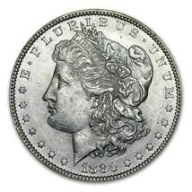 1880 Morgan Silver Dollar Choice About Uncirculated + - $69.25