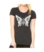 Butterfly Skull Women's Tee Shirt - $19.99