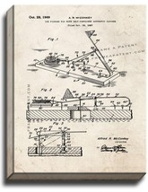 Ice Fishing Rig With Self-contained Automatic Catcher Patent Print Old L... - $69.95+