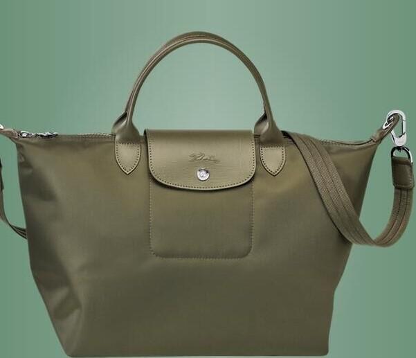 7c38adbd1d7e Longchamp Le Pliage Neo Nylon Green Handbag and 50 similar items