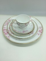 Wedgwood Spring Blossom 5 Piece Place Setting China Made in England Neve... - $148.49