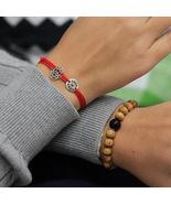 Sterling Silver Deus in nobis bracelet - Inspirational bracelet - $29.00