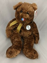 "Ty France Champion Bear FIFA World Cup Plush 13"" 2002 Stuffed Animal toy - $7.95"