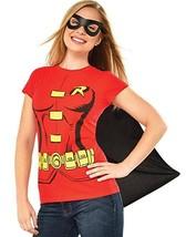 Rubies Dc Comics Robin Adulte Femmes Déguisement Halloween Masque Chemis... - $24.13