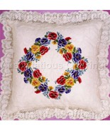 Engel Jewel Tone Pansy Candlewicking Crewel Embroidery Kit - $29.99
