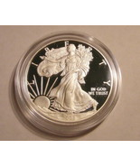 2008 - W Proof American Silver Eagle (ASE) 1 Oz... - £73.29 GBP