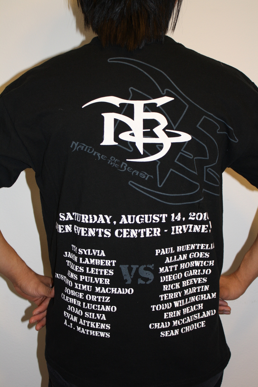 TIM SILVA vs PAUL BUENTELLO T-Shirt L