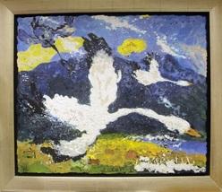 """Benoit Cote """"La Balade"""" - S/N Serigraph - Framed - COA - See Live at Gal... - $300.00"""